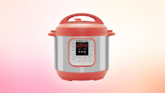 This red Instant Pot is the perfect holiday kitchen and cooking accessory.