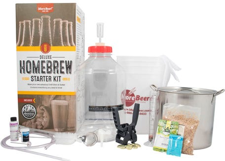 Best gifts for couples of 2019: MoreBeer Homebrewing Kit