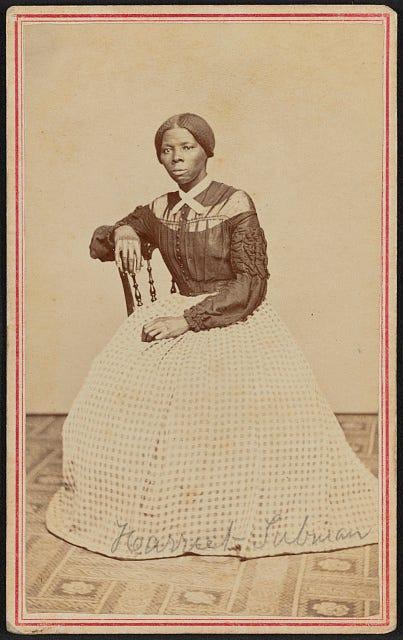 Harriet Tubman Portrait; Underground Railroad Hero; ca.1867