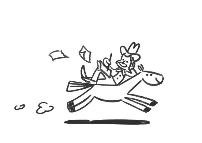 Initial sketch of Google Doodle honoring Will Rogers.