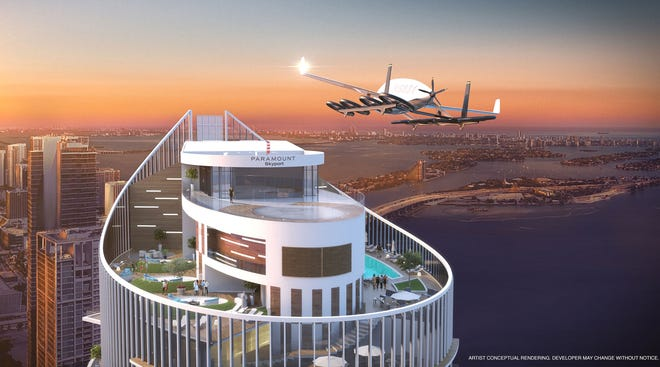 Paramount Skyport.