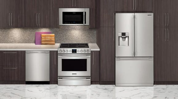 Check out ovens, ranges and range hoods at Wayfair's massive appliance blowout.