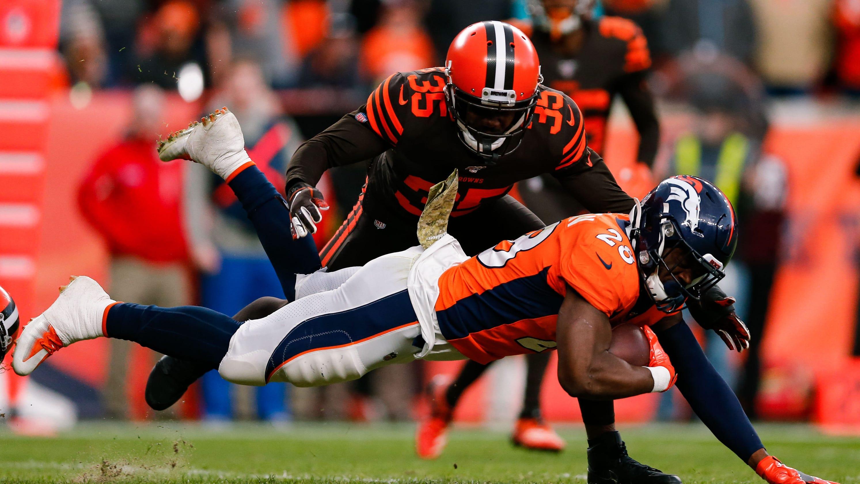 Browns' Jermaine Whitehead threatens critics on Twitter, team calls tweets 'unacceptable'