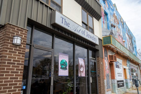 The Art of Jewelry, a Red Bank-based business that designs and sells jewelry, in Red Bank, NJ Tuesday, November 5, 2019.