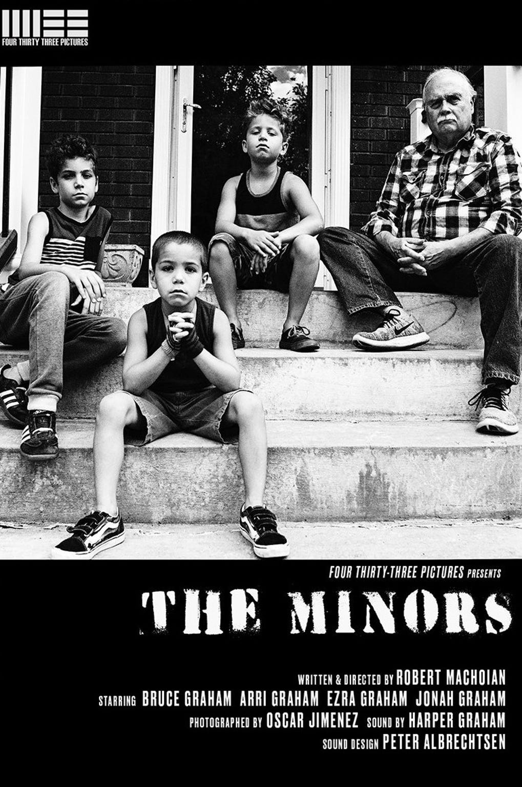 """The Minors"" is one of 30 films that will be screened this weekend at the 24fps International Short Film Festival at the Paramount Theatre. From the United States, it is the first film scheduled Saturday afternoon."