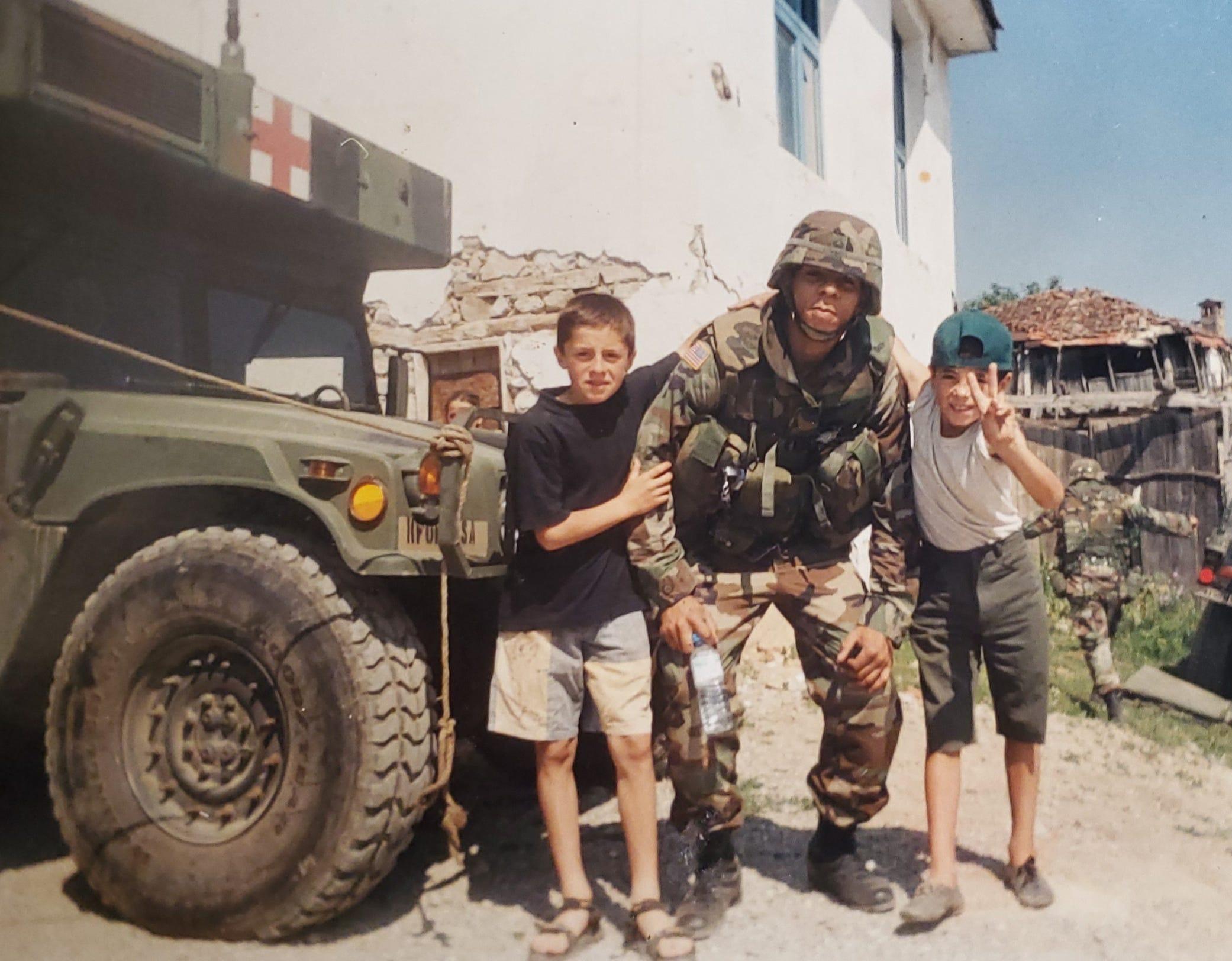 Gregory Lloyd Edwards was a US Army veteran combat medic.