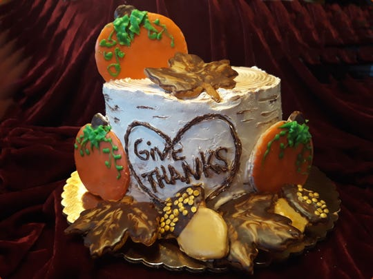 Just in time for Thanksgiving, Goodie-licious Custom Baking has introduced its  Harvest Birch Log Torte.