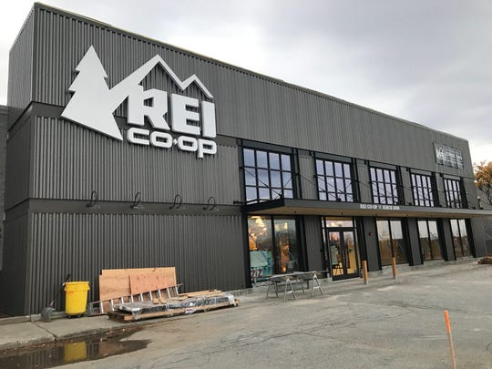 The newly built REI store in Williston on Monday, Nov. 4.