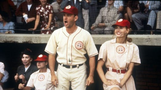 """A League of Their Own"" is one of five movies featured for Hanksgiving at Alamo Drafthouse."