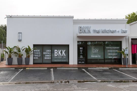 BKK thai kitchen + bar in Corpus Christi's Lamar Park shopping center.