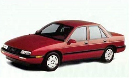 This Chevy Corsica is believed to be similar to the one that fatally struck 16-year-old Mark Jagielski on Tuckahoe Road in Williamstown in 1994. The driver has never been found