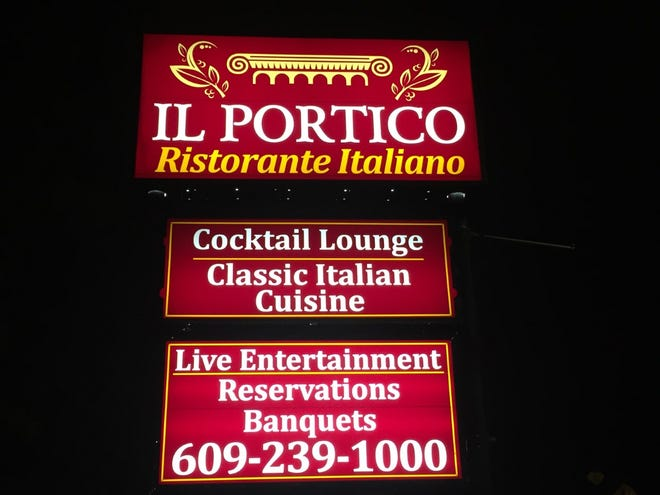 Il Portico, a Burlington Township restaurant, can keep its name, a federal judge has ruled.