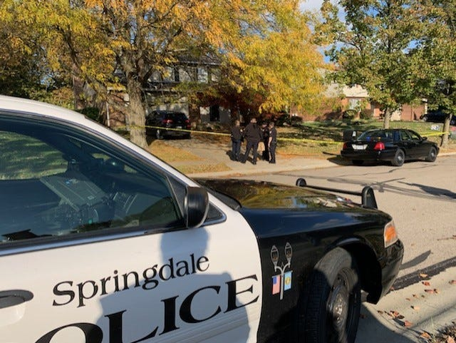 Police are investigating a fatal shooting that also left one wounded Tuesday in Springdale.