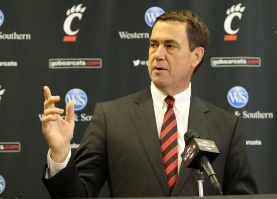 Football coach Luke Fickell is arguably the best of several successful coaching hires made by Mike Bohn, who is headed to USC.   Enquirer file University of Cincinnati athletic director Mike Bohn is concerned about the ramifications of Monday's landmark Supreme Court ruling, which could lead many states to legalize betting on college and professional sports.