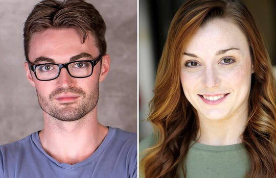 "Ian Alexander Erbe and Shelby Brown star in William Shakespeare's ""Romeo & Juliet"" at the Roxy Regional Theatre, Nov. 8-16."