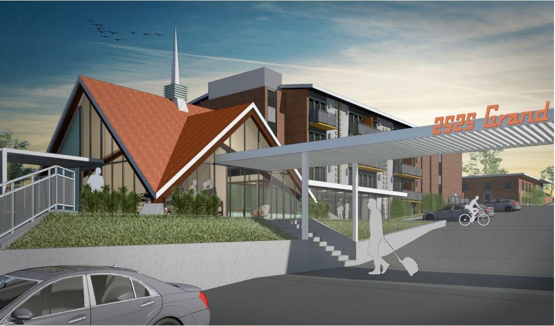 Mid-century modern restoration planned for former Howard Johnson's Motor Lodge in Des Moines