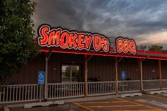 """Smokey D's is the winner of the """"Best BBQ Restaurant"""" category."""