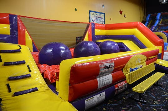"""Pump It Up is the winner of the """"Best Child Birthday Venue"""" category."""