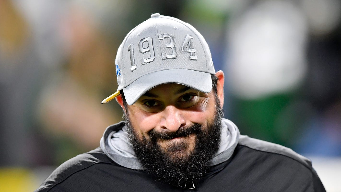Matt Patricia won't call Detroit Lions a rebuild: 'We'll worry about next year, next year'