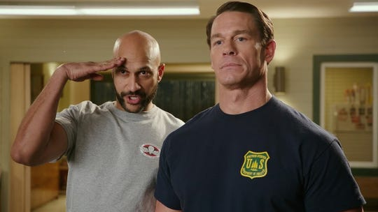 "Keegan-Michael Key and John Cena in ""Playing with Fire."""