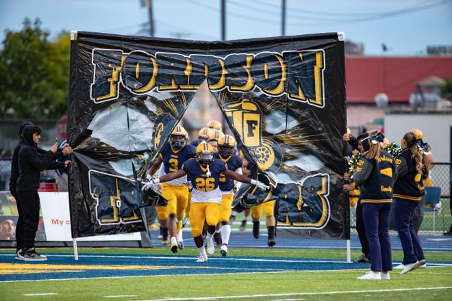 Dearborn Fordson takes on Detroit Cass Tech in a Division 1 district final.