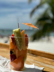 Fresh Connection offers smoothies, fresh fruit cups and vegan comfort foods on Fort Myers Beach.