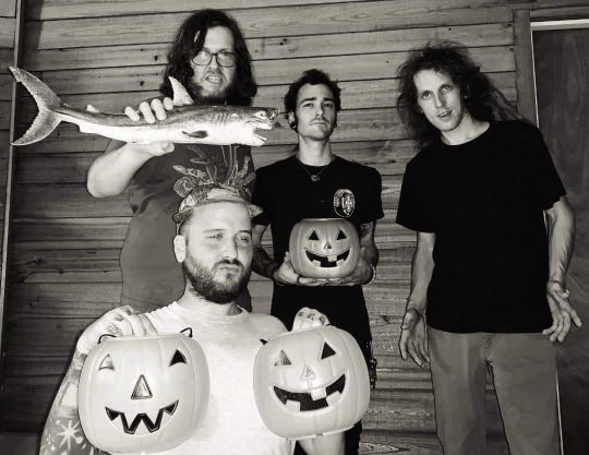 Gainesville surf rockers The Mermers