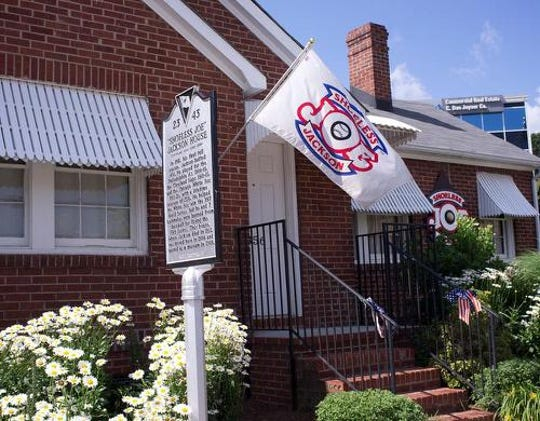 Shoeless Joe Jackson's Greenville home, purchased in 1941, is now a museum at Fluor Field.