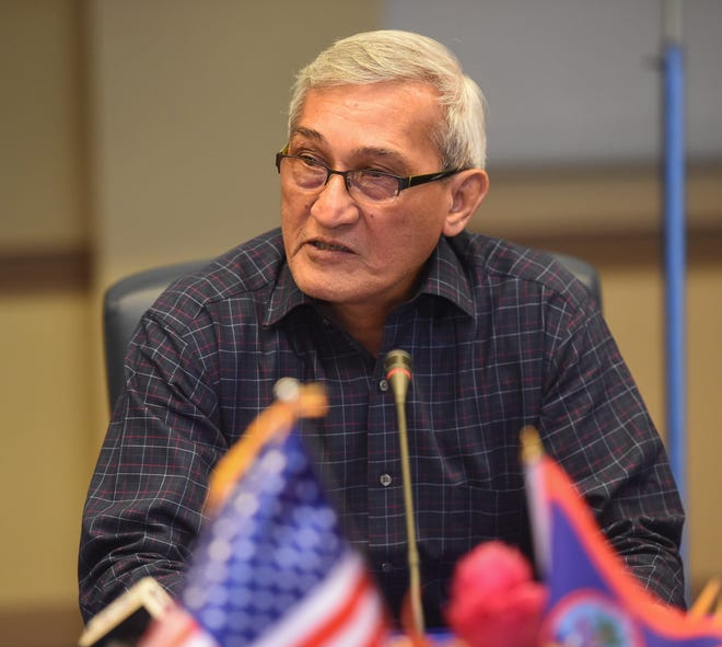 John Benavente, Guam Power Authority general manager, is shown in this Nov. 5, 2019, file photo.