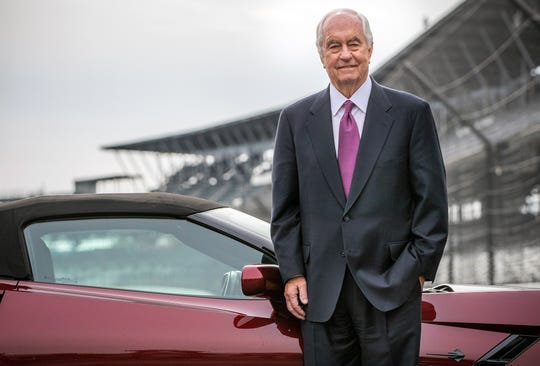 Roger Penske, chairman and founder of Penske Corporation, poses for a portrait.