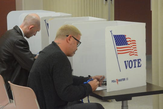 Voters cast their ballots on Nov. 5, 2019. Mississippi's federal primaries for 2020 are March 10.