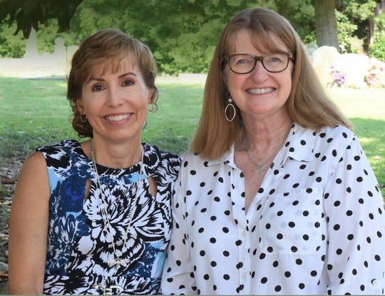 Lisa Wingate and Judy Christie