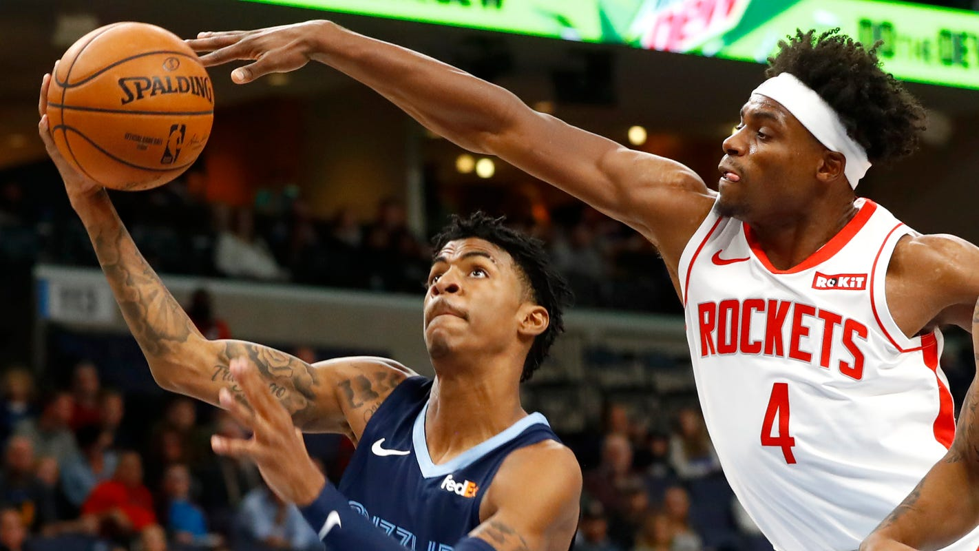 Ja Morant satisfied with food options at NBA bubble: 'I'm not a silver spoon guy'