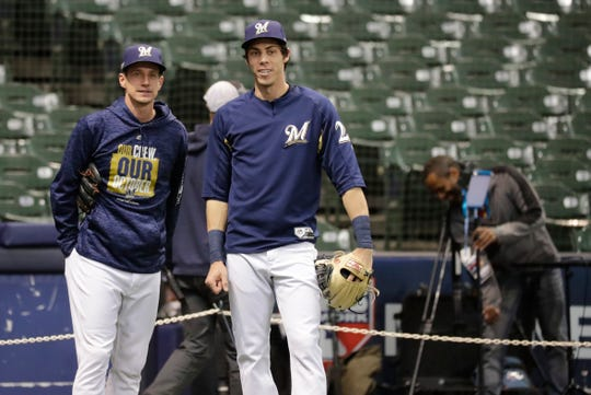 Craig Counsell is again a finalist for manager of the year in the National League, and Christian Yelich is a candidate to repeat as MVP.