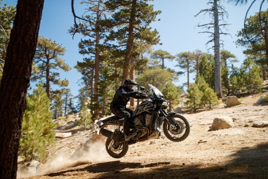 The Harley-Davidson Pan America is the company's first adventure touring bike. It will be released in 2020.