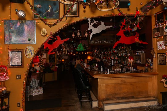 The Tin Widow will host The Miracle on 2nd Street again this year featuring holiday decor and cocktails.