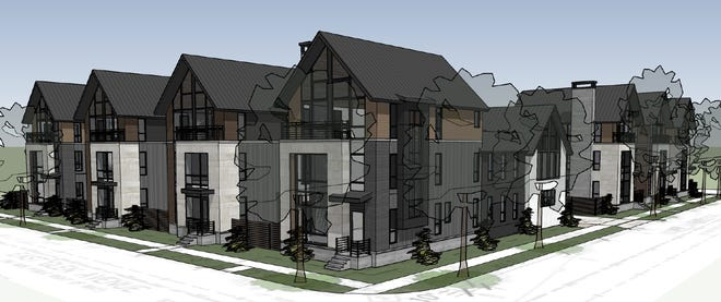First Church of Christ, Scientist in Whitefish Bay plans to sell its property at 721 E. Silver Spring Drive to WiRED Properties, which plans to demolish the church building and construct seven single-family homes.