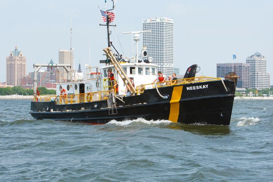 UWM's Neeskay research vessel.