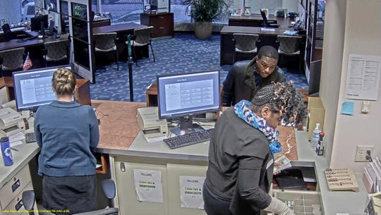 Milwaukee Police say the man in the photo robbed Park Bank on Monday.