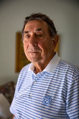 Air Force veteran Col. Vince Fazio (Ret.) poses for a portrait, Tuesday, Nov. 5, 2019 at his home in Bonita Springs. Fazio, a career Air Force officer, served as a bomber pilot during the Vietnam War.