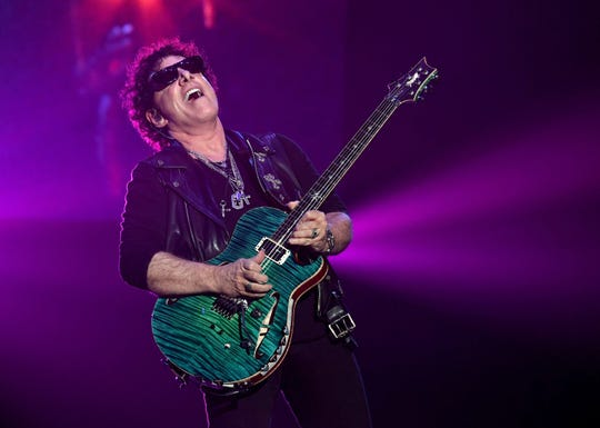 Neal Schon of Journey performs on May 3, 2017, in Las Vegas.