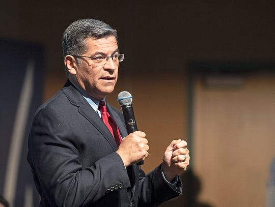 Attorney General Xavier Becerra quickly came out in opposition to the new Clean Water Act rule.