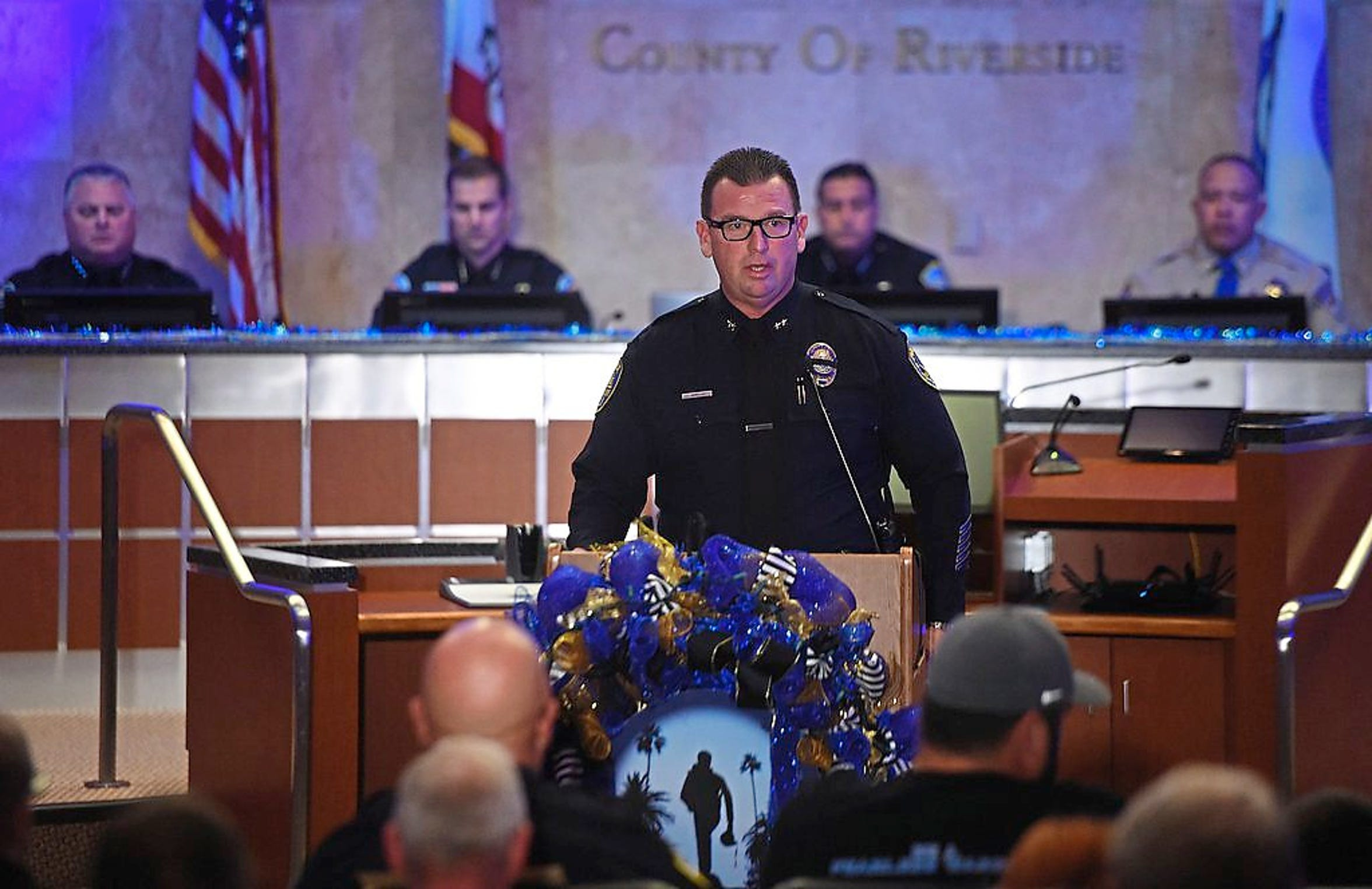 Riverside Police Department's acting chief, Larry Gonzalez, is vying for the permanent post despite a drunken driving conviction. He was a lieutenant in 2013 when he pleaded guilty after reportedly crashing a city-owned SUV.