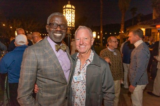 Carl Baker and Keith Kincaid enjoyed the evening.