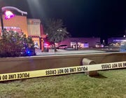 Glendale police were at the scene of a shooting involving an officer outside a Taco Bell near 43rd and Olive avenues Monday night, Nov. 4, 2019.