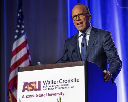 NBC Nightly News anchor Lester Holt will deliver Rutgers University's commencement address.