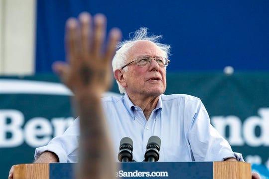 Bernie Sanders, candidato demócrata a la presidencia de EEUU.