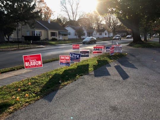 The political signs are about to come down as the 2019 Election Day winners for Lebanon County are soon to be announced.