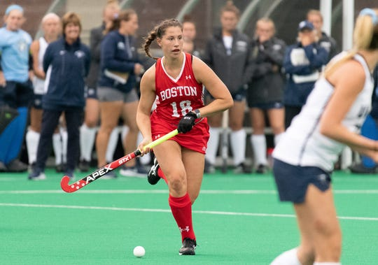 Palmyra grad Kiley Gallagher started all 18 games for the Boston University field hockey team.