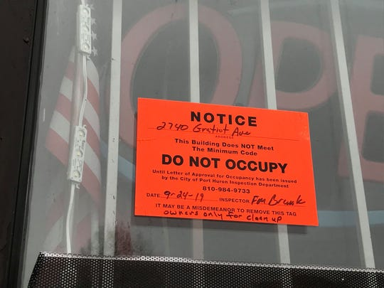 Lighthouse Party Store at 2740 Gratiot Ave. in Port Huron has been closed since it sustained smoke damage during a fire on Sept. 24, 2019.